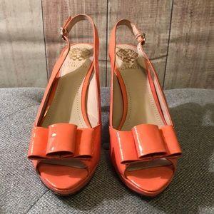 Vince Camuto Shoes - Vine Camuto Ava heels. Patent coral. Size 8 1/2